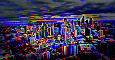 Photograph - Seattle City View IIi by Cathy Anderson
