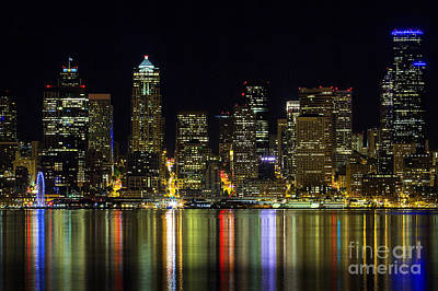 Photograph - Seattle City View by Sonya Lang