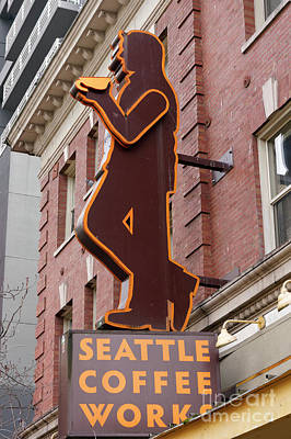 Photograph - Seattle Coffee Works by John  Mitchell
