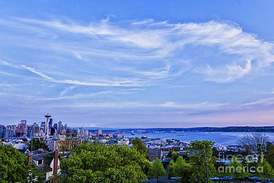 Photograph - Seattle Day by Sonya Lang