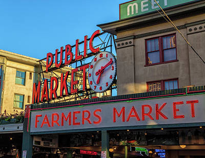 Photograph - Seattle Farmer Market by Jonathan Nguyen