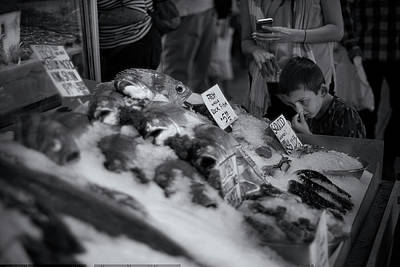 Photograph - Seattle Fish Market by Patrick Groleau