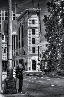 Digital Art - Seattle Flatiron Building by Patrick Groleau
