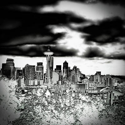 Photograph - Seattle From Kerry Park by David Patterson