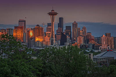 Photograph - Seattle Golden by Rick Berk