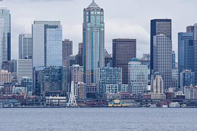 Photograph - Seattle Great Wheel by Tom Cochran