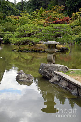 Photograph - Seattle Japanese Gardens 1 by Carol Eliassen