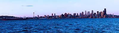 Panorama Photograph - Seattle by Jasmin Hrnjic