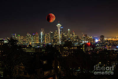 Photograph - Seattle by Jim  Hatch