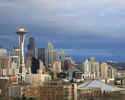 Photograph - Seattle by John Bushnell