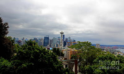 Photograph - Seattle   by Lennie Malvone