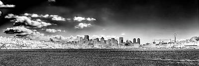 Photograph - Seattle Panorama 1 by David Patterson