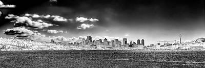 Architecture Photograph - Seattle Panorama 1 by David Patterson