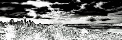 Photograph - Seattle Panorama by David Patterson