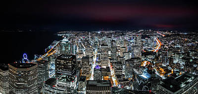 Photograph - Seattle Panorama by Mihai Andritoiu