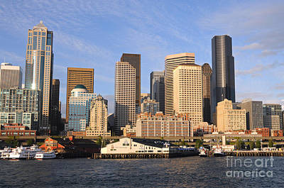 Photograph - Seattle Pier 54 by Sarah Schroder