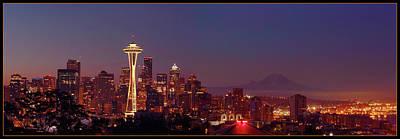 Seattle Pre-dawn Original by Timothy Eberly