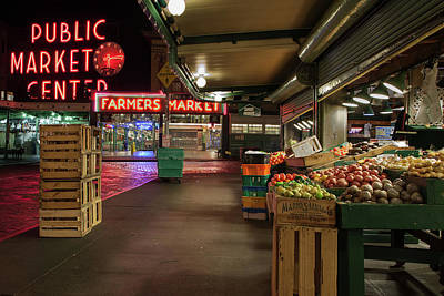 Photograph - Seattle Public Market 2 by Al Hurley