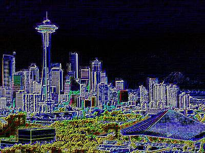 Seattle Quintessence Print by Tim Allen