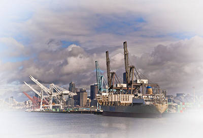 Photograph - Seattle Shipping by Dale Stillman