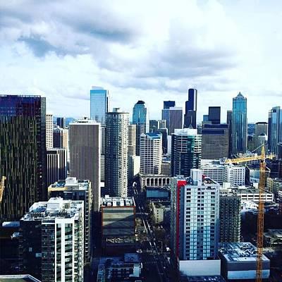 Photograph - Seattle Sky by Vanessa Palomino