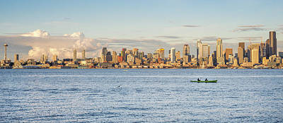 Seattle Skyline 2 Art Print