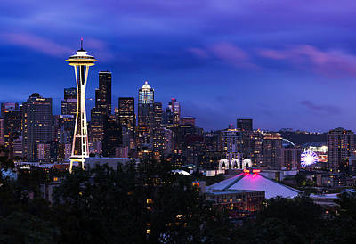 Photograph - Seattle Skyline 5 by Paul Riedinger