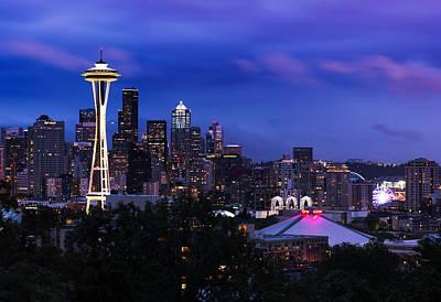Photograph - Seattle Skyline 5 by Paul Riedinger