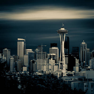 Photograph - Seattle Skyline by Rod Sterling