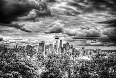 Photograph - Seattle Skyline by Spencer McDonald
