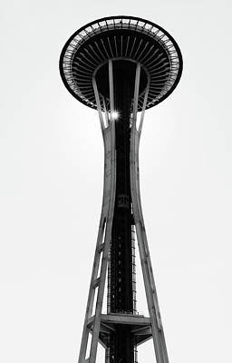Photograph - Seattle Space Needle by Michael Hope