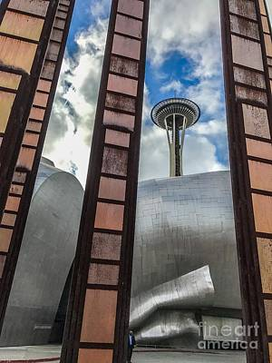 Photograph - Seattle Stroll by William Wyckoff