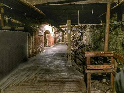 Seattle Underground Art Print