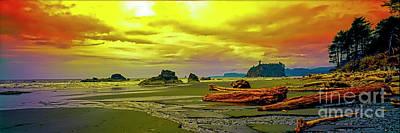 Photograph - Seattle Wa. Ruby Beach by Tom Jelen