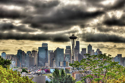 Photograph - Seattle Washington by David Patterson