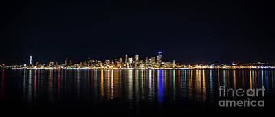 Photograph - Seattle, Washington Skyline #2 by Patrick Fennell