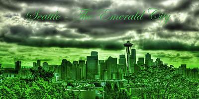 Photograph - Seattle Washington - The Emerald City by David Patterson