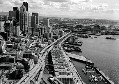 Photograph - Seattle Waterfront by Daniel Hagerman