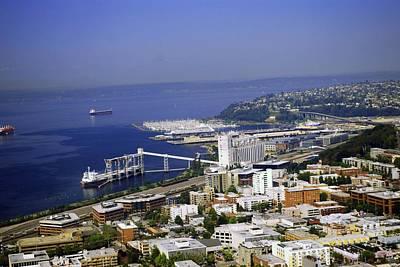 Photograph - Seattle Waterfront by Gary Wonning