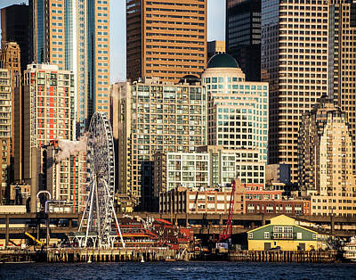 Photograph - Seattle Waterfront by Greg Sigrist