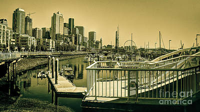 Photograph - Seattle Waterfront I by Deborah Klubertanz