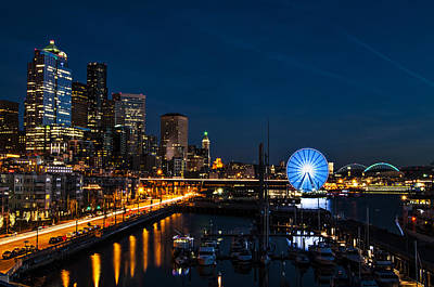 Seattle Waterfront Photograph - Seattle Waterfront by Pelo Blanco Photo