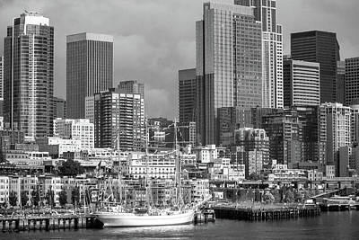 Photograph - Seattle Waterfront by Steven Bateson