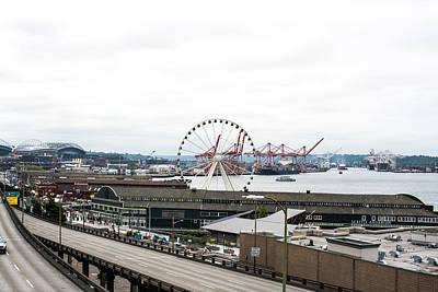 Photograph - Seattle Waterfront by Tom Cochran
