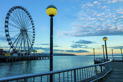 Photograph - Seattle Wheel by Jonathan Nguyen