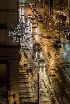 Photograph - Seattle's 6th And Pine by E Faithe Lester