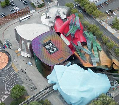 Photograph - Seattle's Mopop Museum by Rod Jones