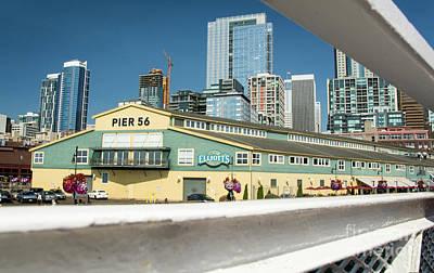 Photograph - Seattle's Pier 56  by Deborah Klubertanz