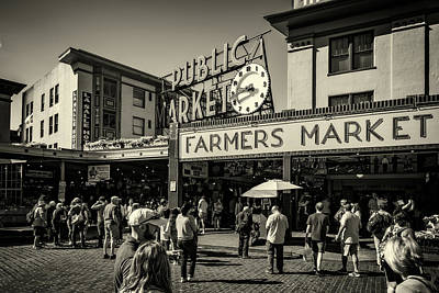 Photograph - Seattle's Public Market by Anthony Doudt