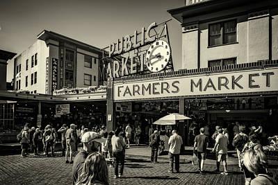 Photograph - Seattle's Public Market by Anthony Doudt